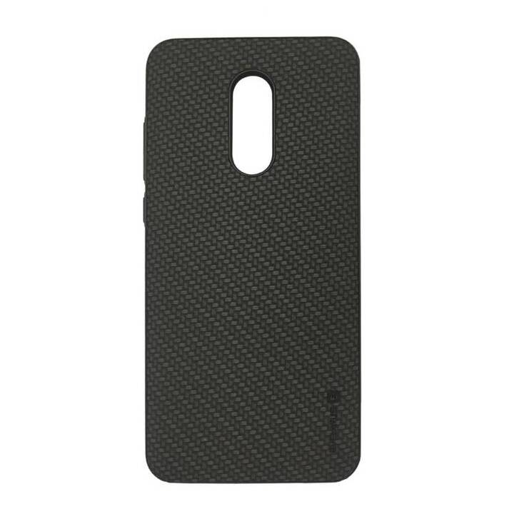 EVELATUS Backcover TPU (Galaxy A6, Schwarz)