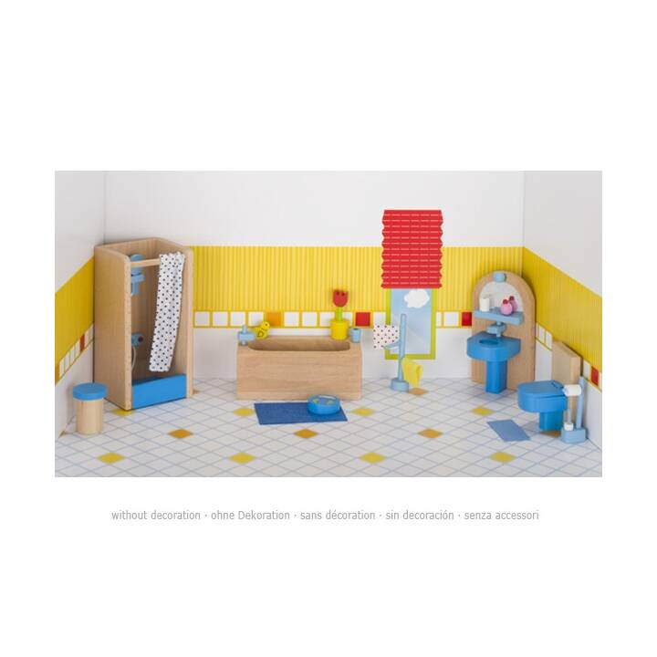 GOKI bambola mobili da bagno bambola