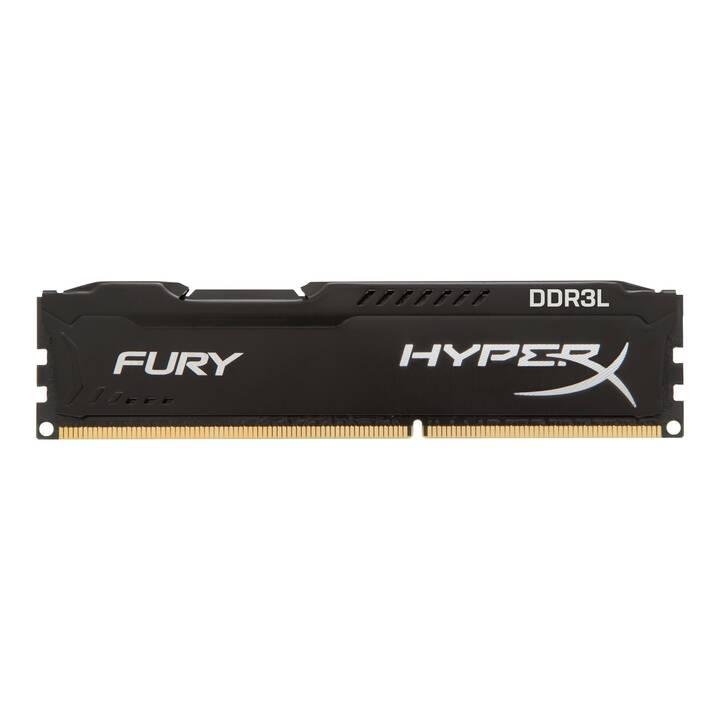 HYPERX Fury Black (2 x 8 GB, DDR3-SDRAM, DIMM 240-Pin)