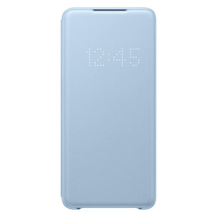 SAMSUNG Flipcover LED Book (Galaxy S20+, Blu chiaro)