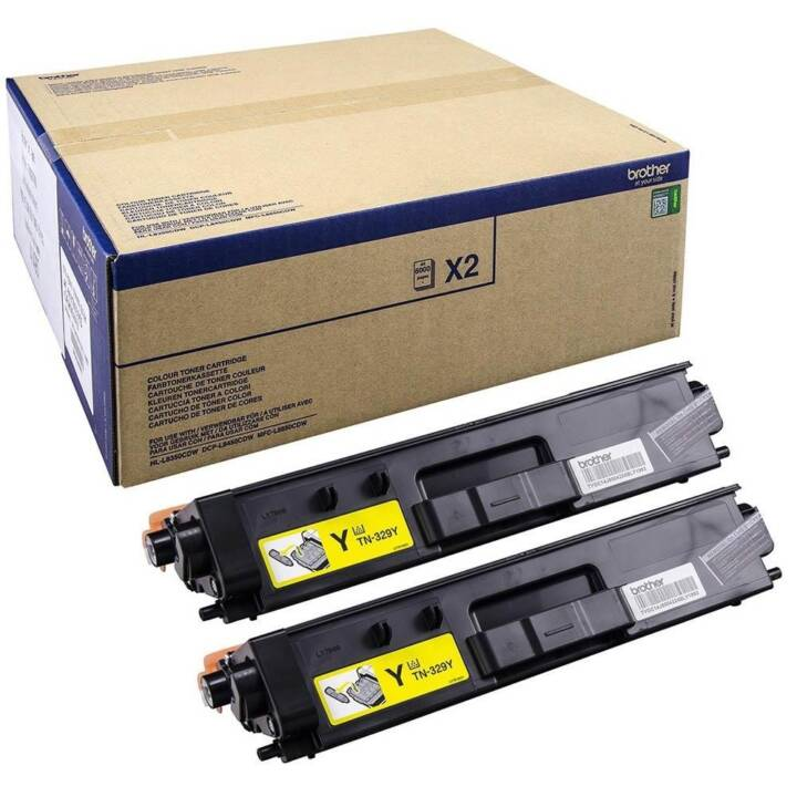 BROTHER TN-329Y  (Multipack, Giallo)