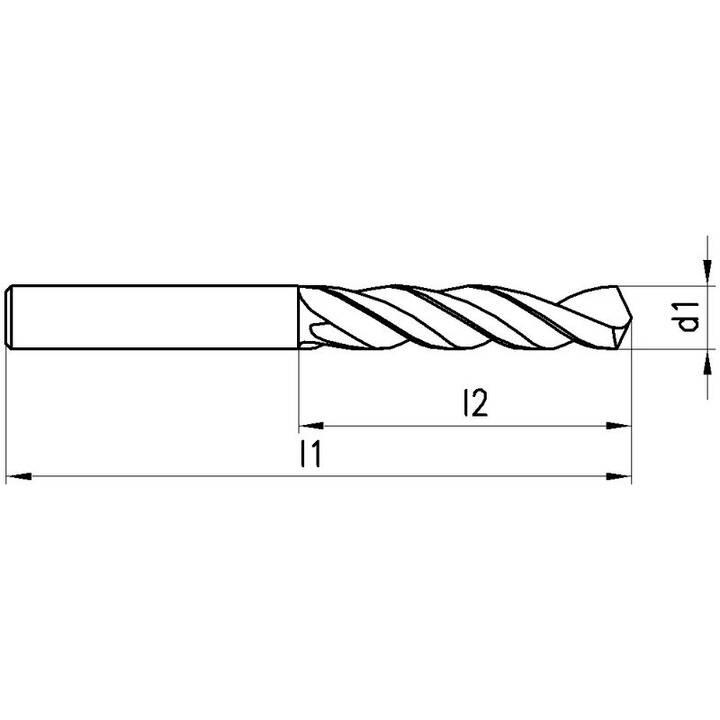 TITEX Punte elicoidali (10.2 mm)