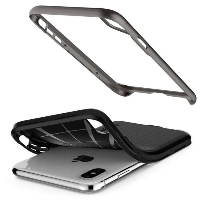 SPIGEN Couverture arrière Neo Hybrid Gunmetal iPhone XS Max