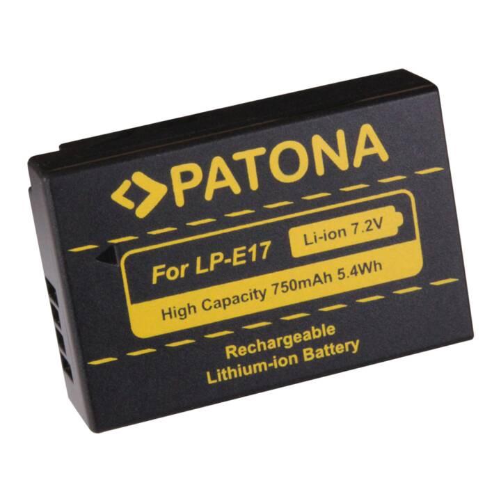 PATONA Batteria per Canon LP-E17