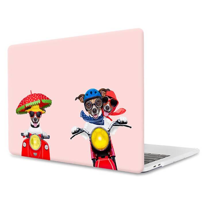 "EG MTT Laptop-Hülle für Macbook Pro 13"" - Pink Funny Dogs"