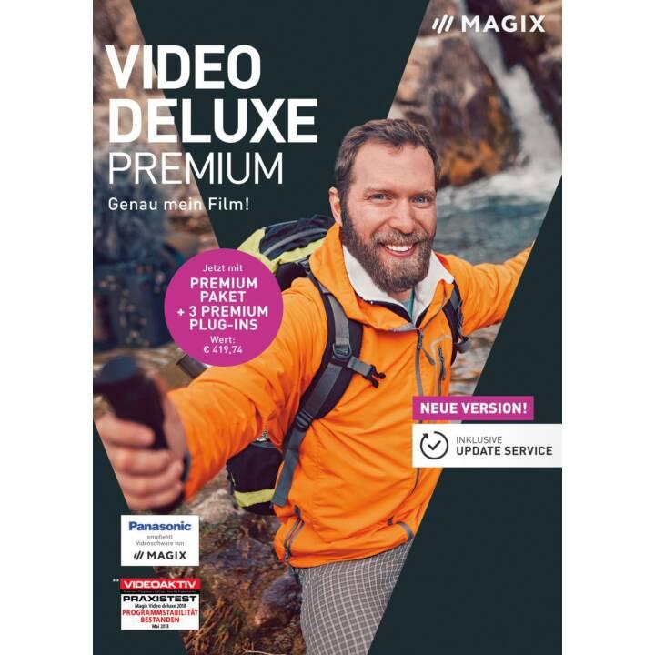 MAGIX Video Deluxe Premium 2019 (D)