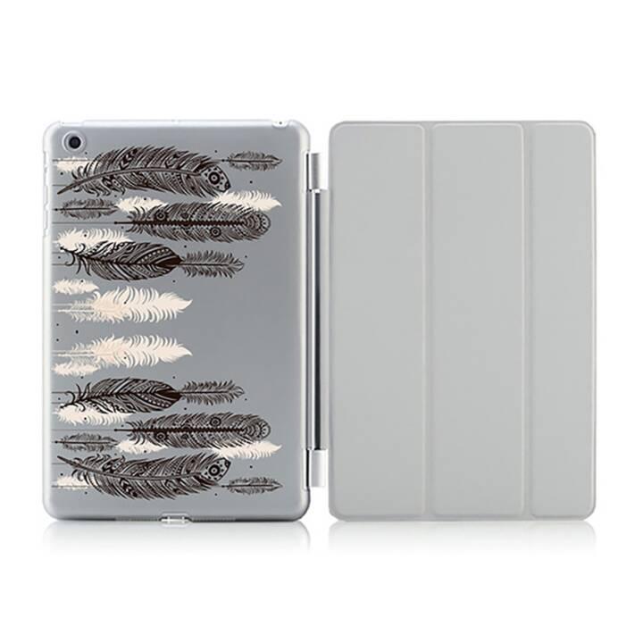 "EG iPad Hülle für Apple iPad 9.7 ""Air 1 - Feder malen"