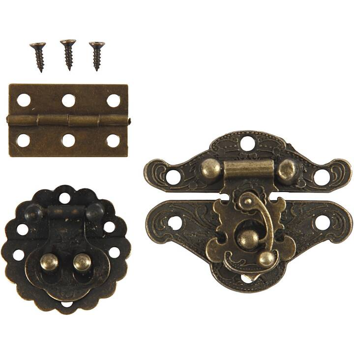 CREATIV COMPANY Kleinteile (Gold, Metall)