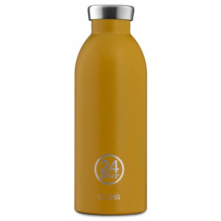 24BOTTLES Bottiglia sottovuoto Clima (0.5 l, Giallo)