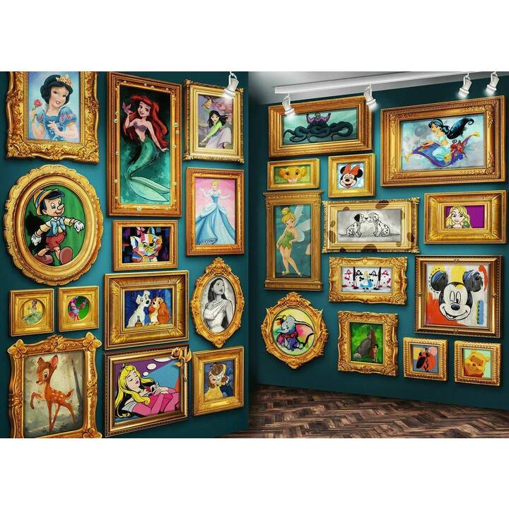 RAVENSBURGER Disney (9000 pezzo, Puzzle 2D)