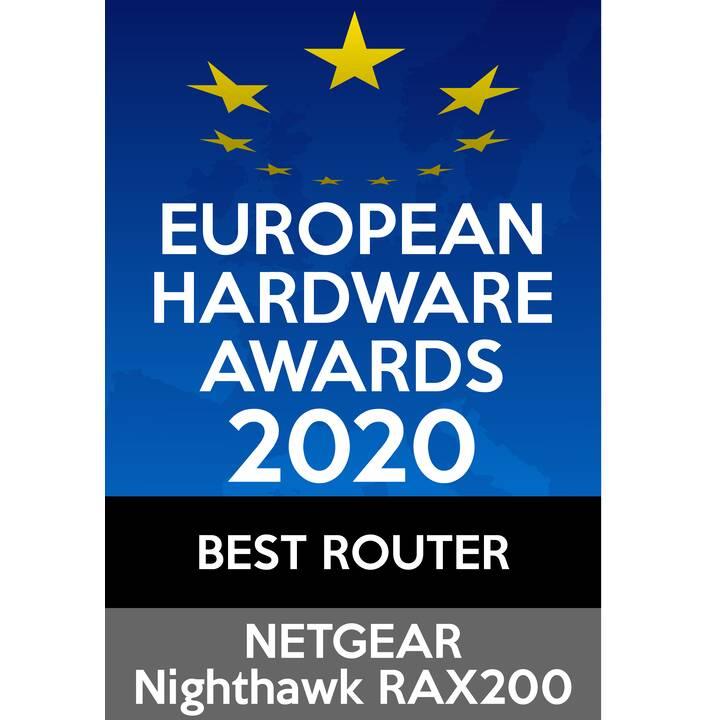 NETGEAR Nighthawk RAX2000 AX11000 WiFi 6 Router