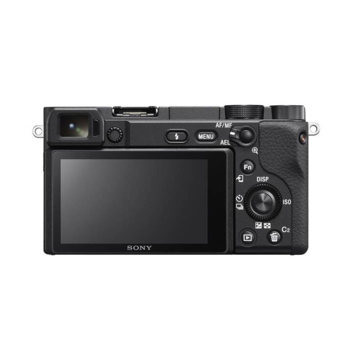 SONY Alpha a6400 + E PZ 16-50mm F3.5-5.6 OSS Kit (24.2 MP, WLAN)