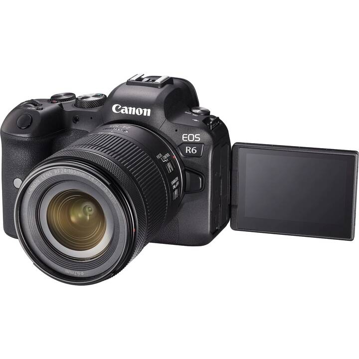 CANON EOS R6 + RF 24-105mm F4-7.1 IS STM Kit (20.1 MP, WLAN)