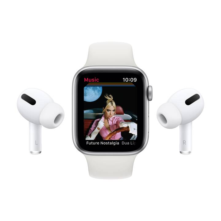 APPLE Watch Series 6 GPS + Cellular (44 mm, Aluminium, Silikon)