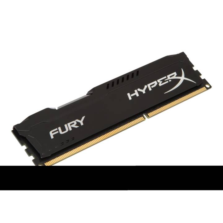 HYPERX Fury Black (1 x 8 GB, DDR3-SDRAM, DIMM 240-Pin)