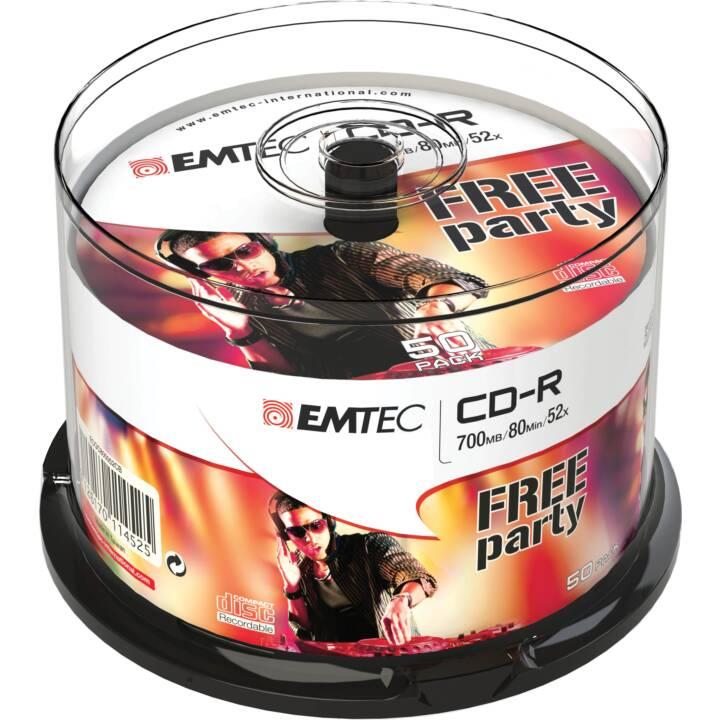 EMTEC Classic 50 x CD-R 700 MB