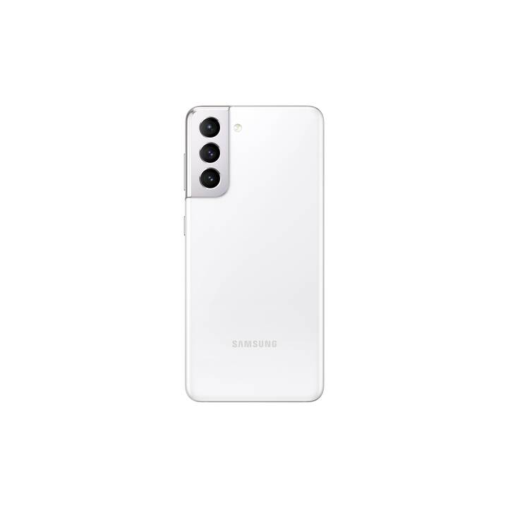 "SAMSUNG Galaxy S21 (5G, 6.2"", 256 GB, 64 MP, Phantom White)"