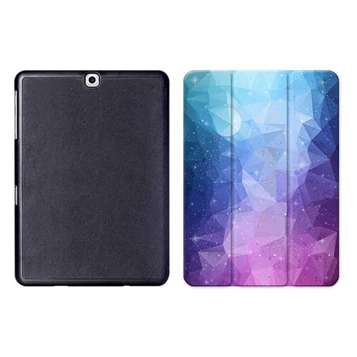 """EG MTT Tablet Tasche mit Smart faltbare Abdeckung für Samsung Galaxy Tab S2 9.7 """"- Lila"""