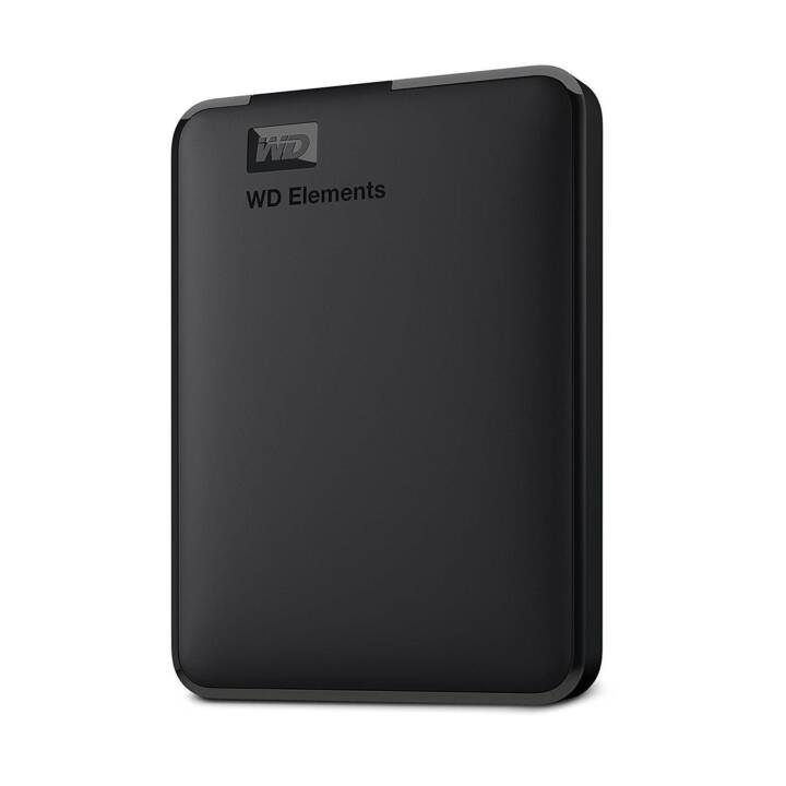 WD Elements Portable (USB 3.0, 4 TB, Nero)