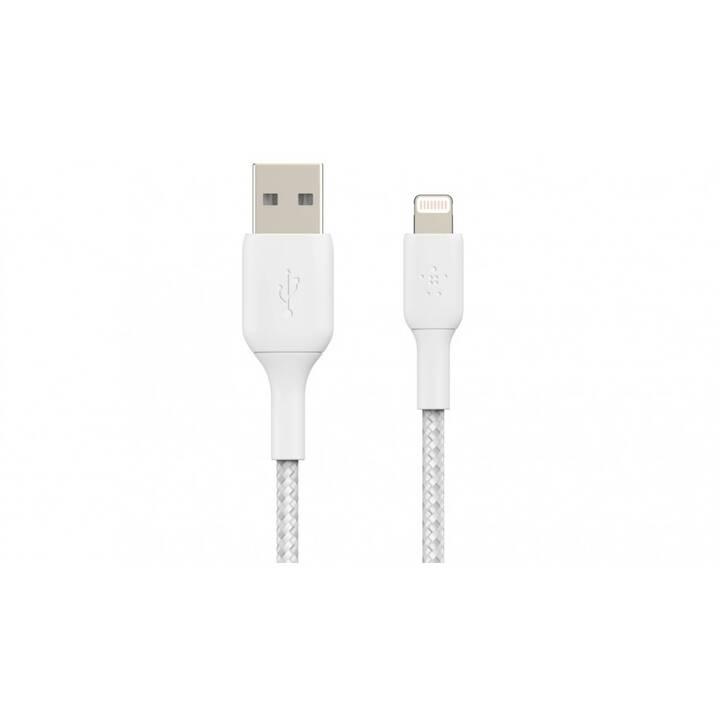 BELKIN Câble (Lightning, USB 2.0 Type-A, 2 m)