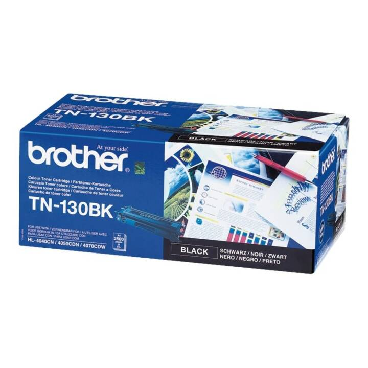 BROTHER TN130BK  (Toner seperato, Nero)