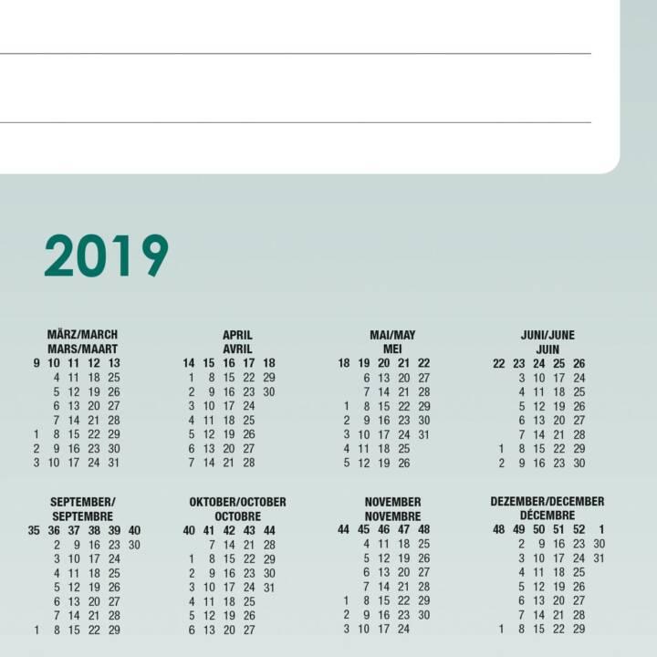 SIGEL Schreibunterlage Weekly Planner 595x410 mm