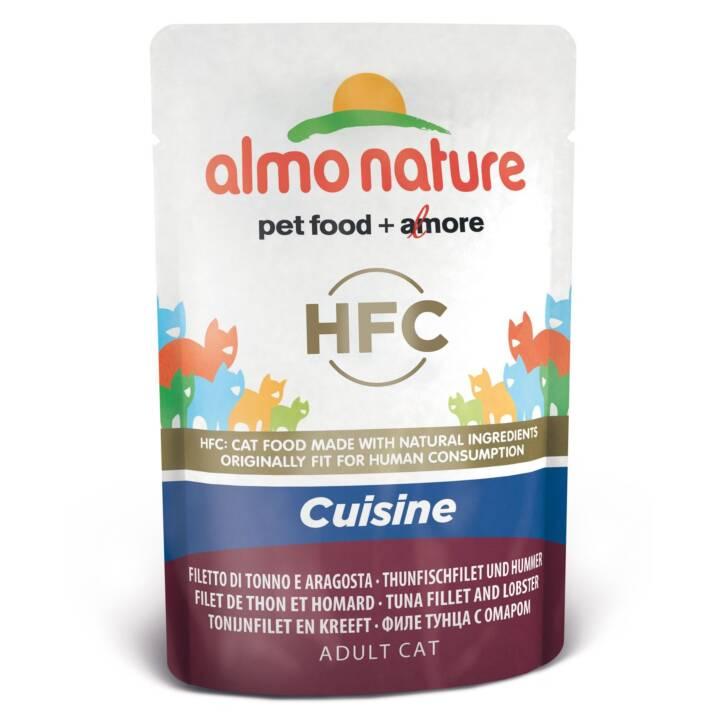 ALMO NATURE HFC Cuisine (Adulte, 55 g, Thon, Homard)