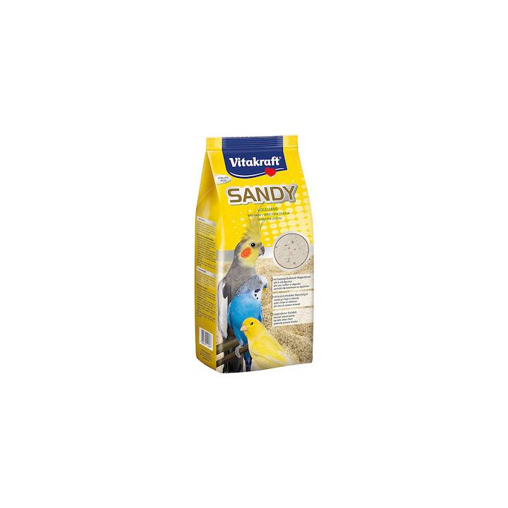 VITAKRAFT Sabbia per uccelli Sandy(2.5 kg)
