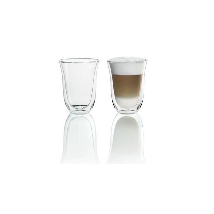 DELONGHI Ensemble de verres à Latte Macchiato DELONGHI