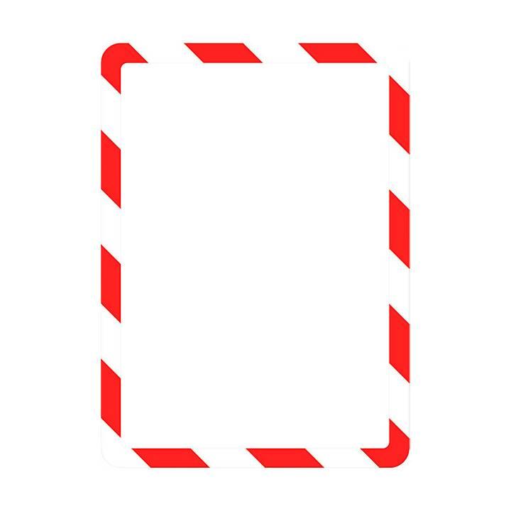 TARIFOLD Sichtmappe (Rot, Weiss, A4, 2 Stück)