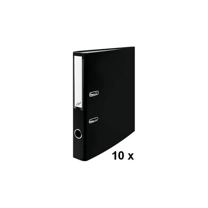 BÜROLINE plieuse 4cm noir 10 pièces A4