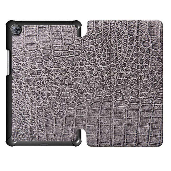 """EG MTT Housse tablette pour Huawei Mediapad M5 8.4"""" - peau de serpent"""