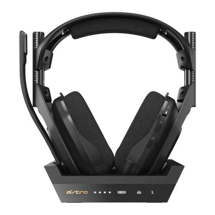 ASTRO GAMING A50 Wireless + Base Station for XBOX (Over-Ear, Funk (RF), Schwarz)