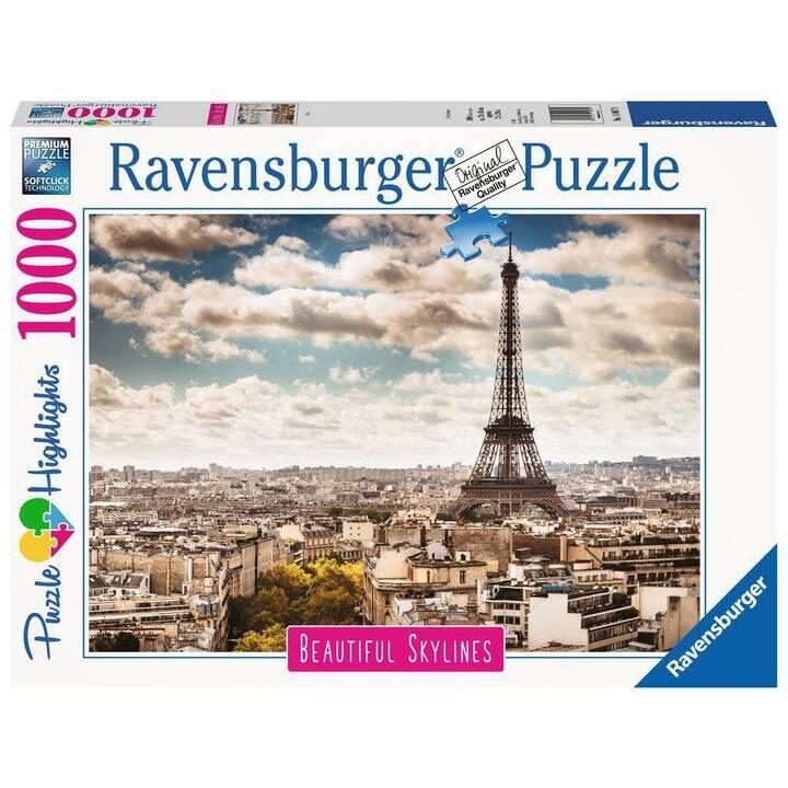 RAVENSBURGER Paris  (1000 Stück, 2D Puzzle)
