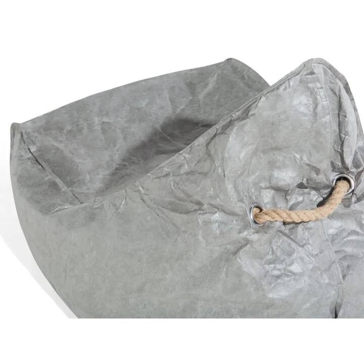 BELIANI Drop Sitzsack (Grau)