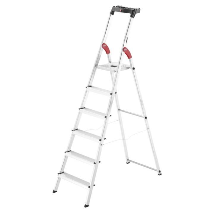 Hailo Stehleiter L60 6 Stufen