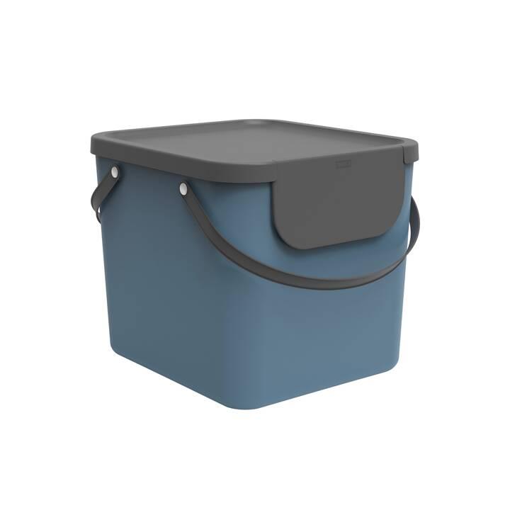 ROTHO Système de gestion des déchets ALBULA (40 l, Bleu)