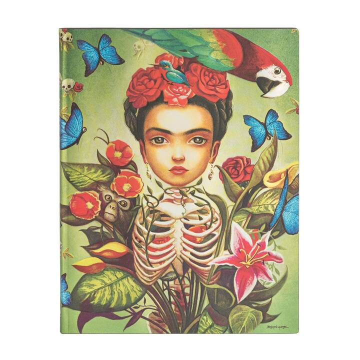 PAPERBLANKS Notizbuch Frida (B5, Blanko)