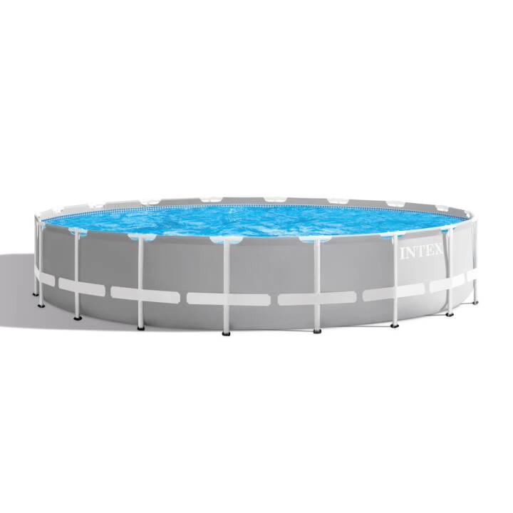 INTEX Piscina fuori terra con struttura tubolare in acciaio Prism Frame Pool