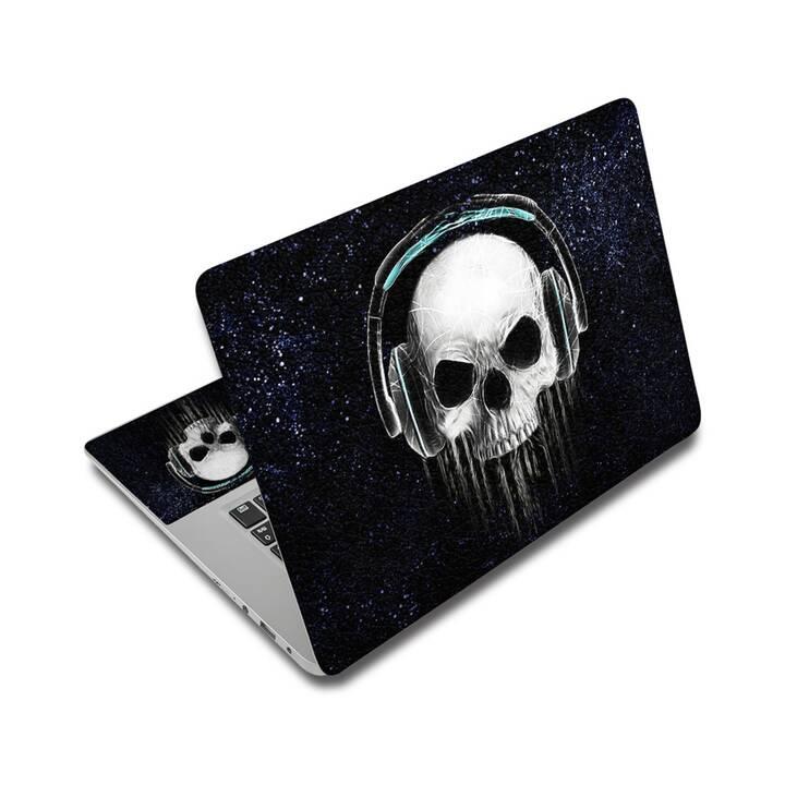 """EG adesivo per laptop 17"""" - teschio"""