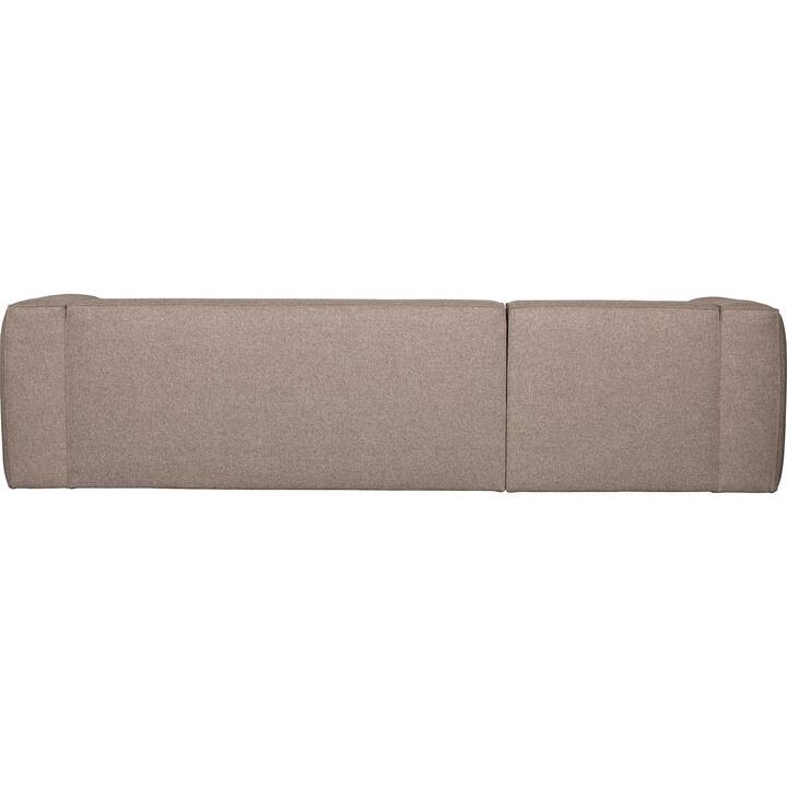 MUTONI CASUAL Bean Canapé d'angle (Polyester, Taupe, 96 cm x 305 cm)