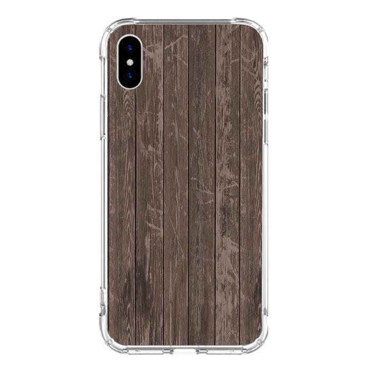 "EG MTT Backcover für iPhone XS 5.8"" 2018 - Holzmaserung"