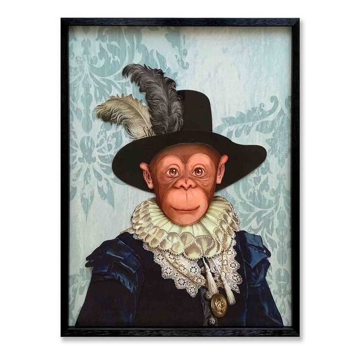 KARE Image sans cadre Monkey Sir