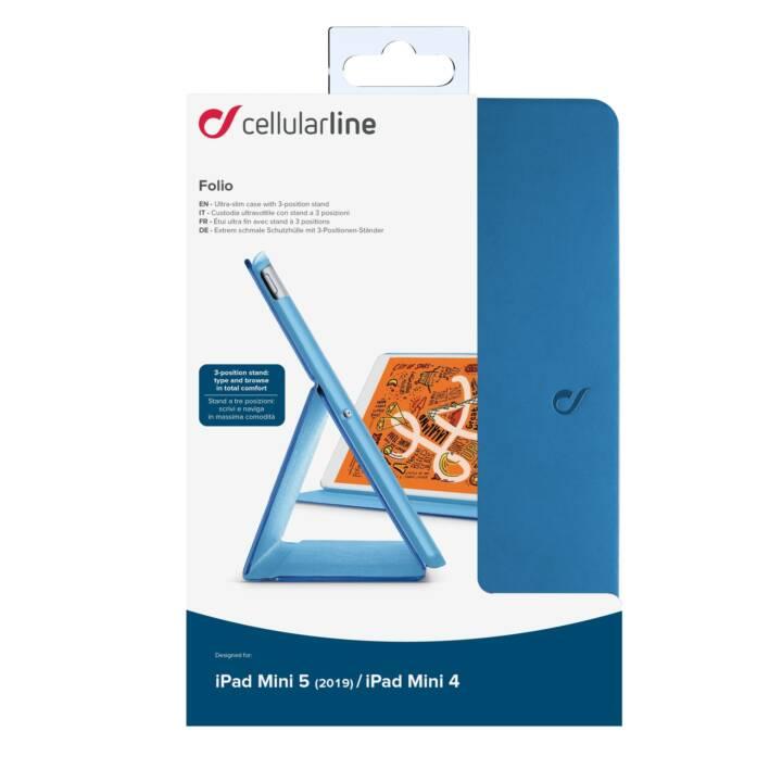 CELLULAR LINE Folio Custodia (Blu)