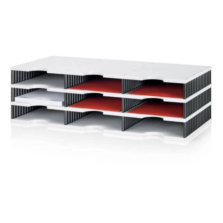 STYRO Standard Boîtes de rangement  (Gris, Noir)