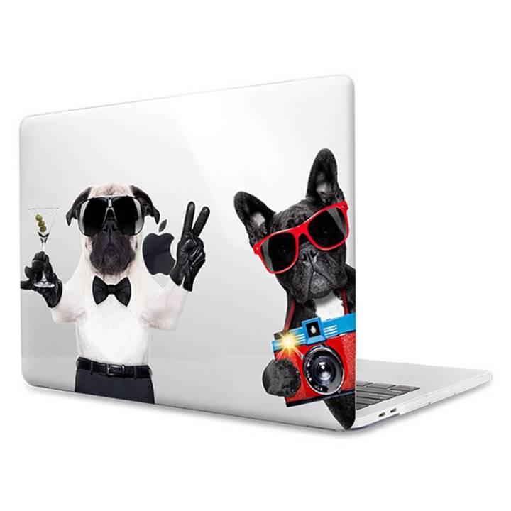 """EG MTT Housse pour ordinateur portable pour Macbook Pro 15"""" Touch Bar - Chiens"""