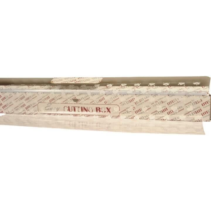 EASY CUTTING BOX Pellicola trasparente per regalo (1 m x 50 m, Transparente, Simbolo)