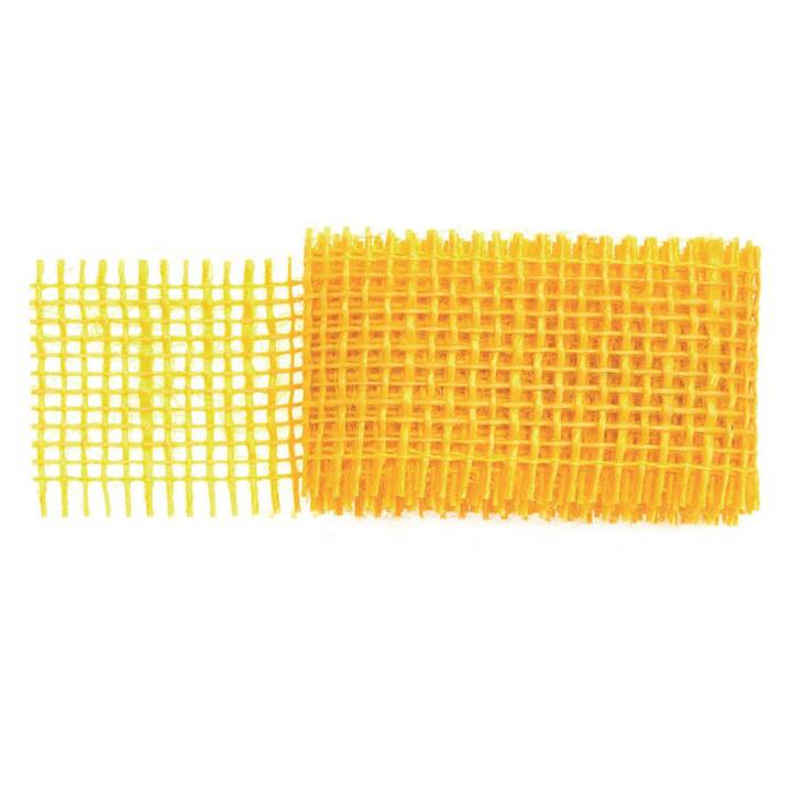 GLOREX Nastro decorativo (Giallo, 4 cm x 1 m)