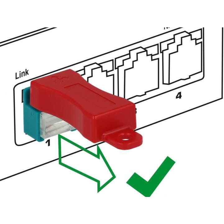 DELOCK RJ45 Clip (Protezione accessori)