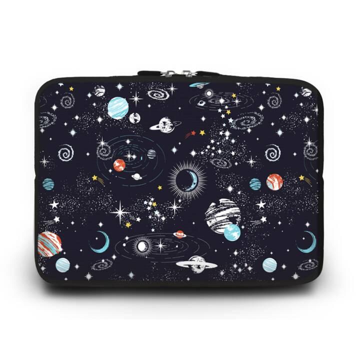 """EG HUADO Housse d'ordinateur portable pour 12"""" - Univers"""